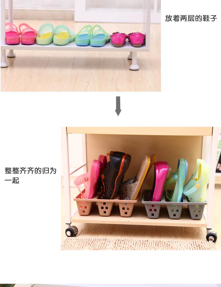 塑料鞋子收纳盒创意鞋架节省鞋柜空间大师鞋盒