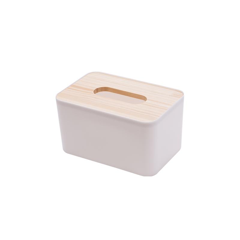 小号白色纸巾盒
