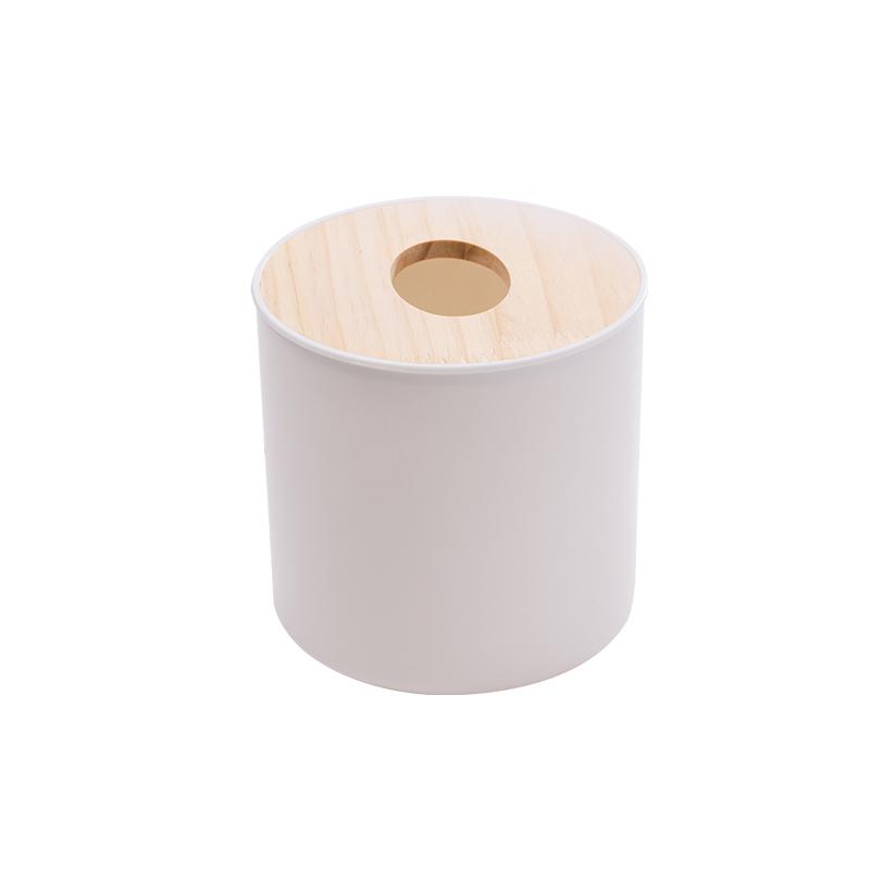 圆形纸巾盒