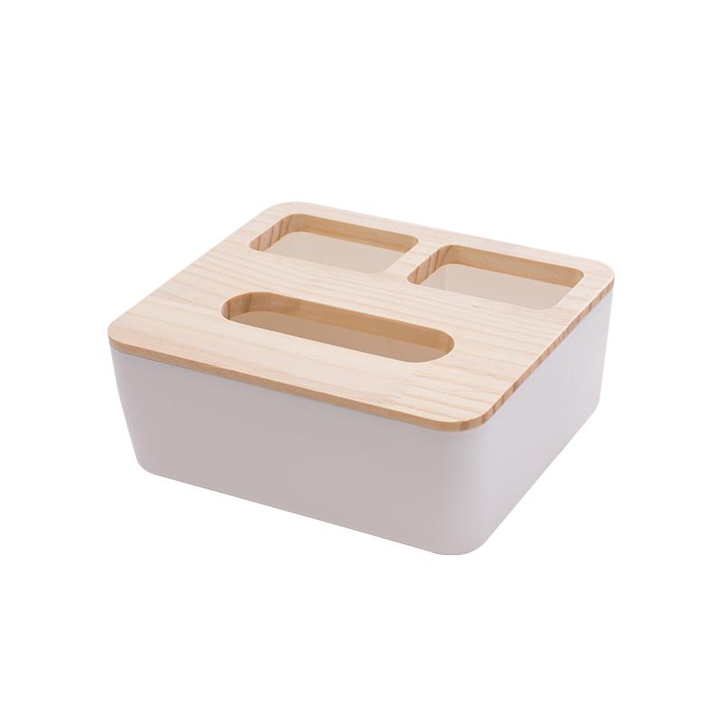 三格纸巾盒