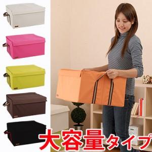 日本木晖estraria系列 双拉链厚软盖收纳箱 整理箱52cm-大号