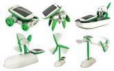 DIY太阳能六合一玩具