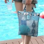法蒂希 户外旅行收纳袋新款购物单肩大容量沙滩包多功能衣服化妆品收纳包(小号)
