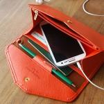 donbook正品韩国  新款优雅气质超薄软男女式钱包皮 旅行证件护照包大手机包 (037)