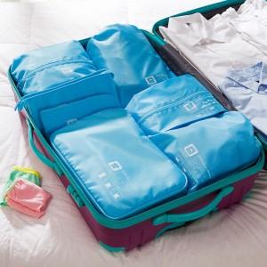 特价木晖 差旅分类旅行收纳 衣物收纳套装  七件套