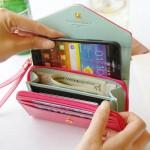皇冠donbook 多功能手机包 卡包 零钱包HG001
