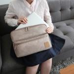 法蒂希 商务防震笔记本电脑包手提包手拿包公文包13寸