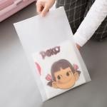 时尚旅行自封袋 衣物分类收纳袋 透明防水收纳包(24*35)