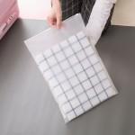 时尚旅行自封袋 衣物分类收纳袋 透明防水收纳包(28*40)