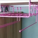 邓迪斯粉色心情多用悬挂式置物篮 收纳架