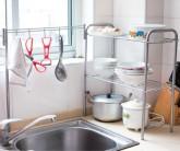 特价 邓迪斯 可挂勺铲厨房多用置物架