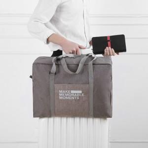 FADISH法蒂希 简约便携可折叠旅行手提包行李包收纳包男女登机包