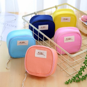 糖果色大容量卫生棉包 姨妈巾收纳包收纳袋化妆包