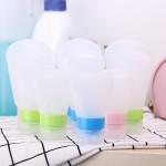 旅行洗漱包分装瓶套装洗发水沐浴露乳液硅胶空瓶旅游化妆用品