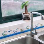 厨房水槽洗菜盆吸水贴洗漱台防水吸湿贴(8X280cm)