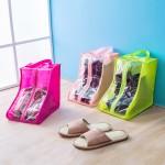 旅行手提鞋袋牛津布可洗鞋套靴子防尘袋防潮鞋罩收纳袋鞋包