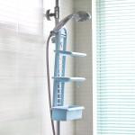特价 卫生间浴室免打孔置物挂架  三层浴室收纳架