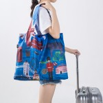 法蒂希 单肩时尚旅行便捷环保购物袋收纳折叠轻便春卷包 城市系列