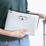 法蒂希 创意加厚防震数码收纳包旅充电源数据线充电器整理包