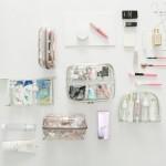 化妆包透明洗漱包大小号便携收纳包大容量多功能简约