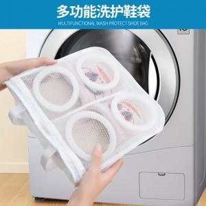 洗衣机专用洗鞋袋懒人鞋子护洗袋可挂晾鞋晒鞋袋洗鞋收纳袋保护袋