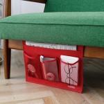 日本木晖 创意设计桌柜沙发-床边收纳袋-iPad-杂志杂物收纳插袋
