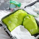 木晖 差旅分类旅行收纳 衣物收纳套装  两件套
