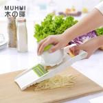 木晖家用土豆丝切丝器厨房多功能切菜萝卜擦丝土豆片切片刨丝神器