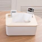 北欧纸巾盒木质客厅创意纸抽盒家用木质餐巾纸盒简约欧式抽纸盒木