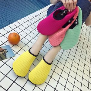 沙滩袜鞋男女潜水浮潜儿童涉水溯溪游泳鞋速干防滑防割赤足贴肤鞋