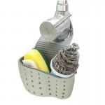 水槽塑料沥水篮厨房厨具置物架水龙头海绵沥水架收纳架收纳挂篮