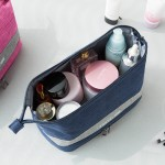 新品阳离子干湿分离化妆品收纳包 防水男士旅游出行洗漱包化妆袋