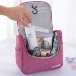 旅行收纳阳离子新款防水包挂钩式洗漱包整理收纳包折叠袋化妆包
