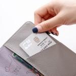 韩国可爱小清新动物旅行护照夹短款护照套证件包(050)