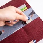 韩国可爱小清新动植物旅行护照夹长款护照套证件包(051)