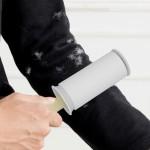 水洗粘毛器滚筒粘毛斜可撕式衣服衣物沾除尘纸除毛刷