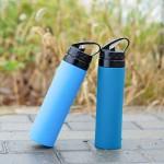 硅胶可折叠水杯水壶户外运动跑步健身旅行便携登山