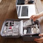 电子收纳包 阳离子涤纶数据线收纳包 多功能数码包