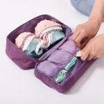 便携旅行内衣收纳包大容量多功能出差旅游内裤文胸分装整理收纳袋