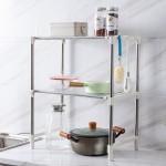 不锈钢调料架厨房置物架调味品储物架菜板刀架挂厨具收纳架