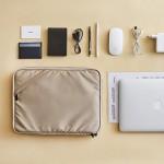韩国简约尼龙加厚防震13寸笔记本电脑内胆包手拿A4文件包