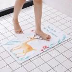 浴室防滑垫家用卫浴卫生间地垫厕所淋浴洗澡脚垫带吸盘耐磨门垫