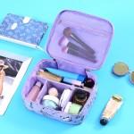 多功能手提化妆品收纳包清新小号便携大容量洗簌包