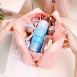 PVC多功能双层小清新大容量防水化妆包收纳包
